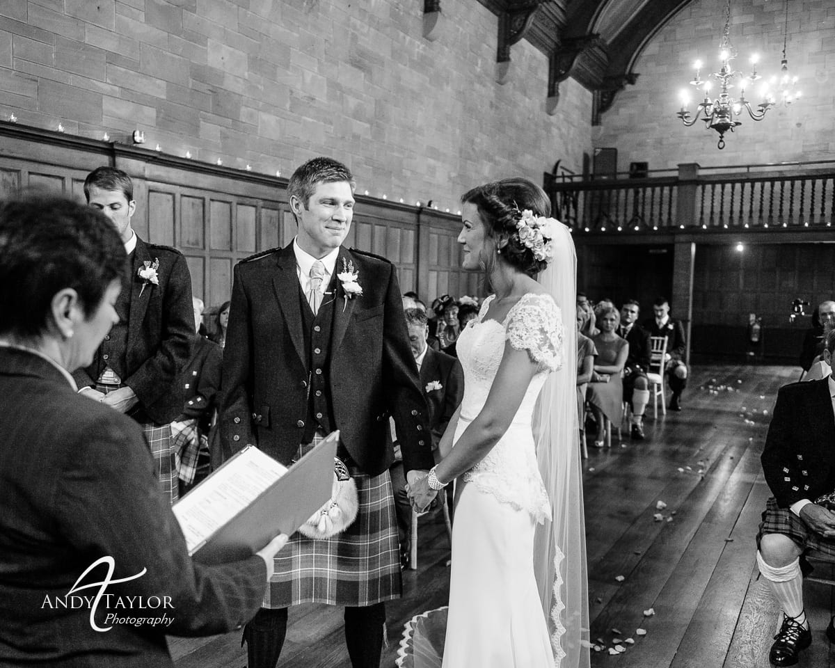 paula amp gregor�s wedding photography at achnagairn house