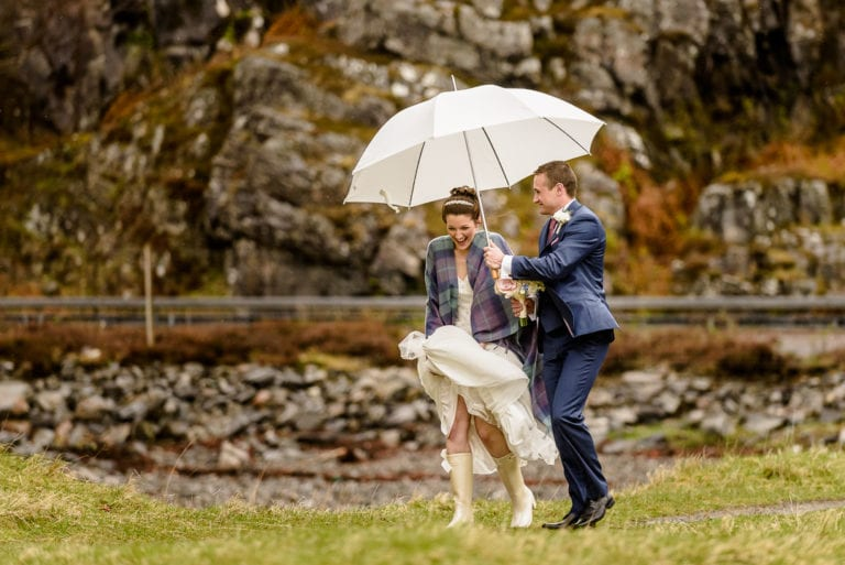 Rachel & Nick's Wedding Photography at Arisaig House – West Highlands