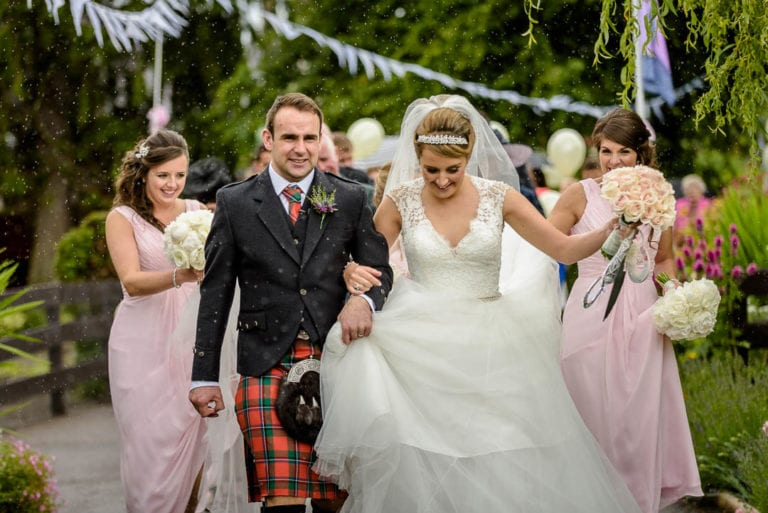 Isobel & Magnus's Wedding Photography at Ardtalla House on Novar Estate