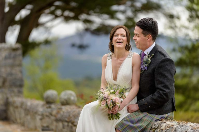 Rachel Iain's Wedding Photography at Aultmore House, Nethybridge