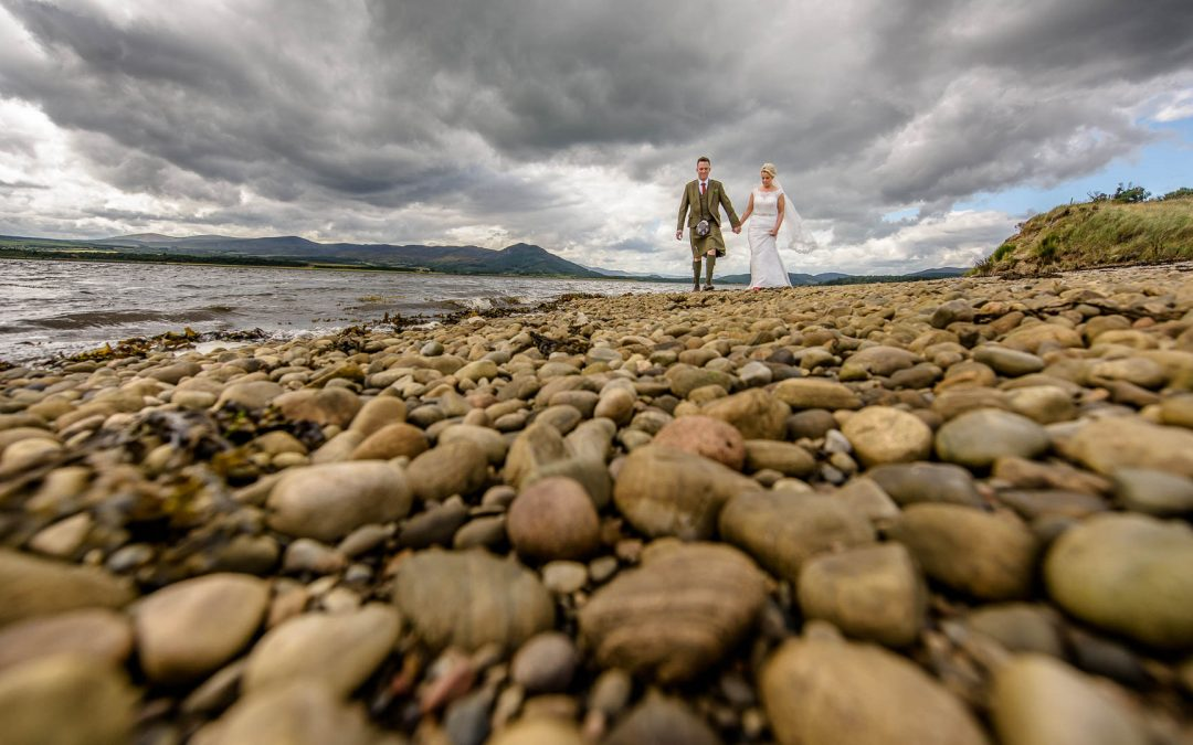Natasha & Ritchie's Wedding at Dornoch Cathedral & Carneggie Hall, Clashmore