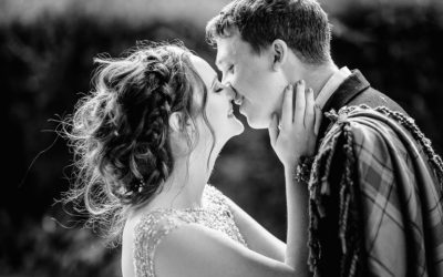 Danni & Mark's Wedding Photography at Innes House