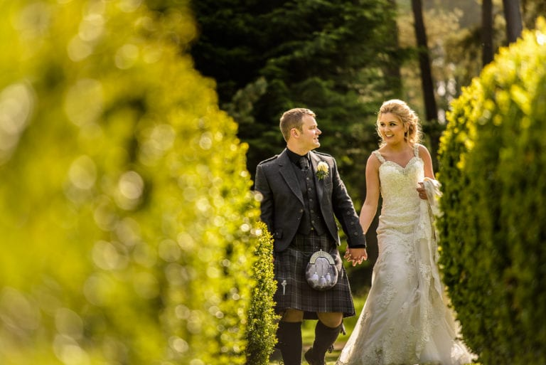Lorraine &Grant's Wedding Photography at Loch Ness Country House