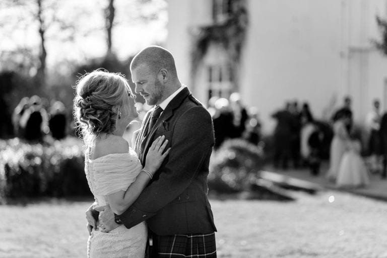 Coleen & Greig's Wedding Photography at Achnagairn Castle