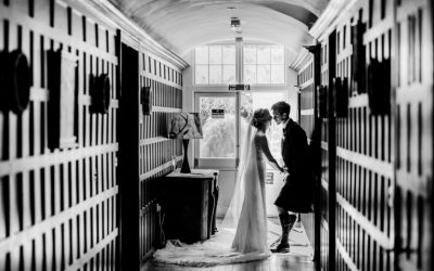 Michaela & Bradley's Wedding Photography at Achnagairn Castle