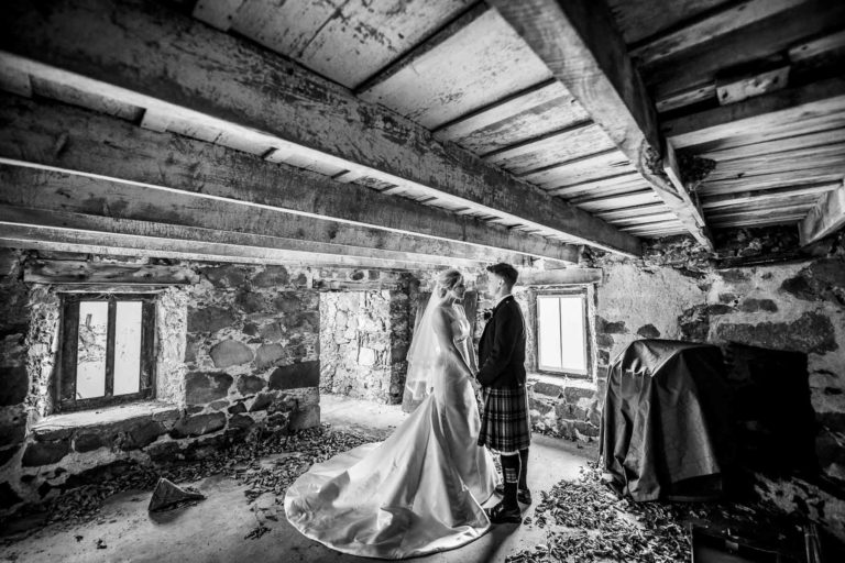Barn at Barra Wedding Photography-78